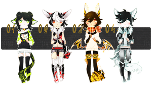 [SET PRICE] halloween adopt batch! OPEN! by rexcorvis