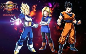 My Dragon Ball FighterZ Team  by BlackIndian36