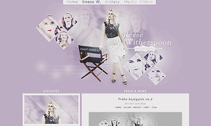 Ordered Reese Witherspoon layout by Efruse