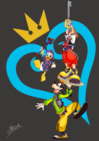 Yay Kingdom Hearts! by JPDraek