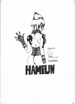 Hamelin from mythology pied piper of hamelin by LyzteClown