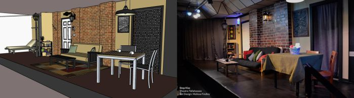 'Stop Kiss' - Set Design and final by MelissaFindley