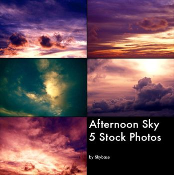 SkyStock - Afternoon Sky by Skybase