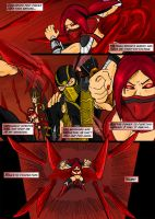 Mortal Kombat Issue #2 Page 5 by MarcusSmiter