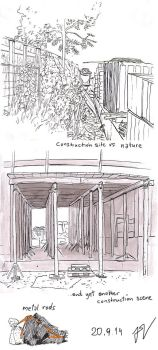 urban sketching 20.9.: another construction site by light-serpent