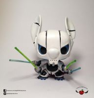 Grievous Stitch Custom Funko pop Star Wars Mash up by ApplePie-Productions