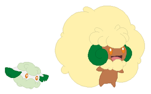 Cottonee and Whimsicott Base