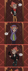 New outfit for Tom [comic] by MarichkaUA