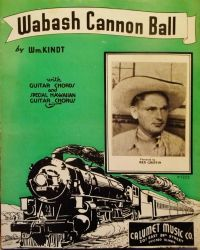 Wabash Cannon Ball Sheet Music by PRR8157