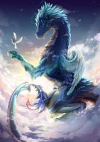 Sky Dragon by KuroHana-dono