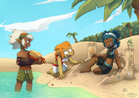 [G] Beach Fun by Luunan