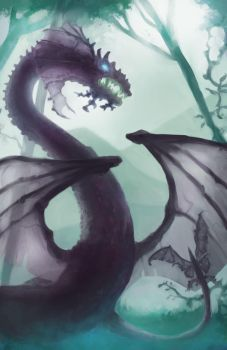 Orchid Dragon by primepalindrome