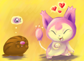 Skitty and Swinub