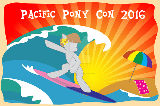 Pacific PonyCon 2016 Exclusive Poster by DarkLight02