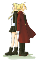 FMA-Stand Together by queenbean3