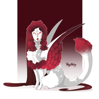 Red Red Rose Sphinx - #38 by Mythka