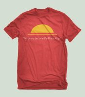 Luffy: Ambition - T-Shirt by JustTomTom