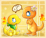 Why are you so orange? Why are you yellow? by KiwiBeagle