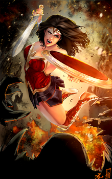 I Have Killed Gods - Wonder Woman by Forty-Fathoms