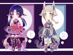 Semichibi Adopts [1/2 OPEN] by Ailythe