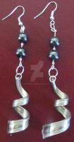 Silverware Earrings by lousephyr