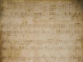 Vintage Music Paper by backgroundsfind