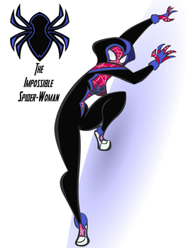The Impossible Spider-Woman by Rider by AJ-Prime
