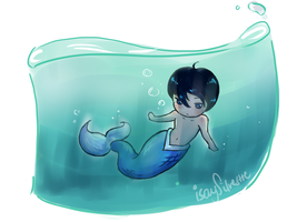 Haru is a Merman by isaysilvestre