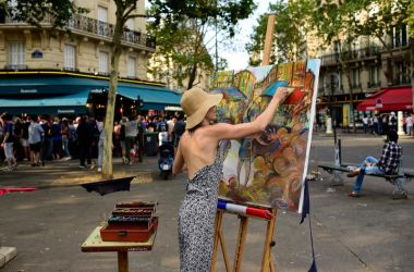 Paris Art by Yousry-Aref