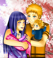 Naruto Family by Eros-lanson