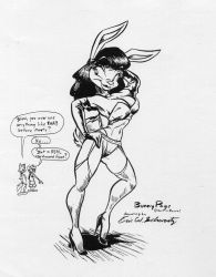 Miss Bunny struts her stuff by Rabbette