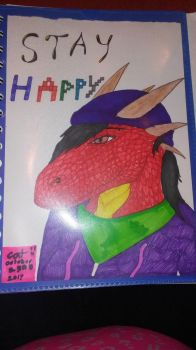 Stay happy by Sexy-Slender-Dragon