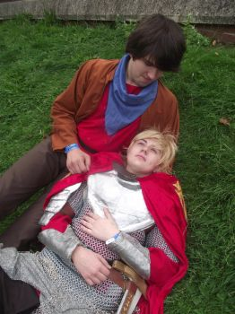 BBC Merlin - Just Hold Me by EAMS81
