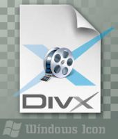 DivX Video File - Icon by ssx