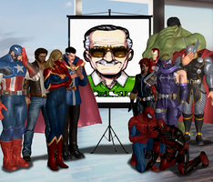 Good Bye, Stan Lee by Leon5cottKennedy