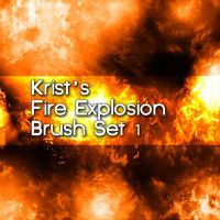 Krist's Explosion Brush Set 1 by Crestfalleen