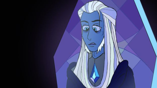 Yet another Blue Diamond gender swap Redraw by Edwar17