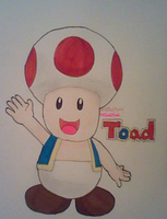 Toad, Gaming's Bitter Sweet Adviser by MCGoldYoshi