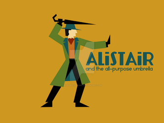 Alistair Original Broadcast Title Card by RGPublications