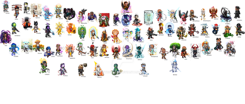 All the Archons thus far by entrophage