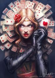 Queen of hearts by Meggie-M
