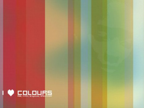 I -love- Colours by kunaja