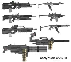 Rifles from Pimp My Gun 10 by c-force