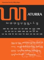 Javanese Font: Aturra by Alteaven