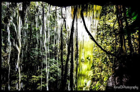 FROM INSIDE THE WATERFALL by IME54-ART-ILONA