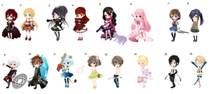 Theme Based Dreamselfy Adopts DTA/WTA :C: by TheCPBase