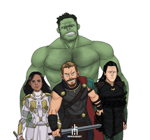 The Revengers by pencilHead7
