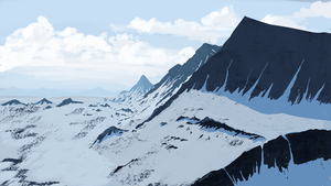 Snowy Mountains by Pacman1170
