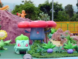 Bulbasaur and Vileplume