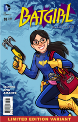 Batgirl cover for my sister by jmamante02